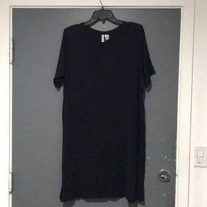 Soft charcoal black h&m dress